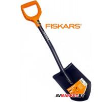 Лопата штыковая FISKARS Solid укороченная 1026667 Россия