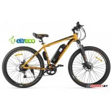 Велогибрид Eltreco XT600 (оранжево-черный-2127) 022297-2127 РФ/Китай