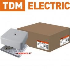 Коробка распаячная КР 50*50*20 ОП с клем. колодкой белая IP40 TDM SQ1401-0202