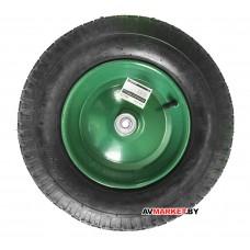 "Колесо надувн. 4.00-8"" (подшипн. ф35x12 мм, для оси 12x100мм) (ECO) (WB-P006)"
