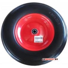 Колесо полиурет. 4,00-8 (подшип. усил. ф35*16мм для оси 16*60мм) WB-P075 WB-P208 Китай