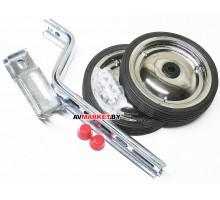 Колёса тренировочные приставные универсальные 12-20, колёсики сталь/резина Китай