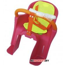 Сиденье велосипедное мод 138 детское пластик на велобагажник (1-5лет) Китай 8125