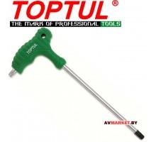 Ключ TORX T25*147*74мм L-Tupe TOPTUL (AIEA2515)