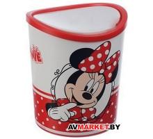 Контейнер для мусора настольный 1,6л Disney (красный) М2491-Д