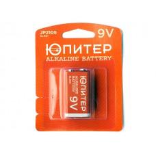 Батарейка 6LR61 9V alkaline 1 шт. ЮПИТЕР JP2105 Китай