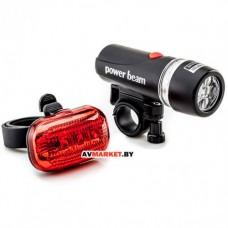 Комплект фонарей для велосипеда (освещения) HW 160274 (XC-JY808) Польша 1117