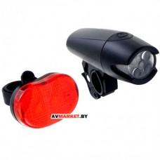 Комплект освещения HW 160293-BK (XC-8008) черный 1118