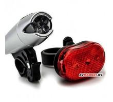 Комплект освещения HW 160293-SI (XC-8008 серебристый) 1809