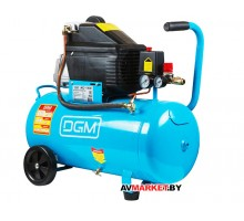 Компрессор DGM AC-150 (260 л/мин, 8 атм, коаксиальный, масляный, ресив. 50 л, 220 В, 1.80 кВт)
