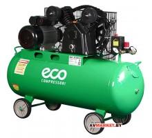 Компрессор ECO AE 1004-22 (380л/мин 8атм рес 100л