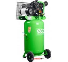Компрессор ECO AE-1004V-22 (380 л/мин, 8 атм, поршневой, масляный, ресив. 100 л, 220 В, 2.20 кВт)