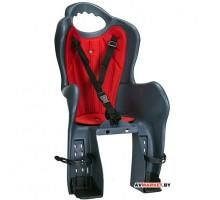 Кресло велосипедное детское HTP ELIBAS P(темно-серый) 2749