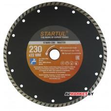 Круг алмазный 230*22 мм универс Turbo MASTER STARTUL ST5055-230 Китай