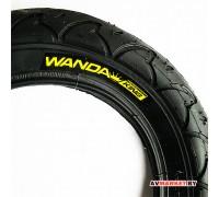 Покрышка вело 12*1/2*2 1/4 P1021 пневмат, черная WANDA Китай