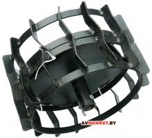 Грунтозацепы для FERMER FM 633М 350/300мм шир. 90мм втулка 30 черный