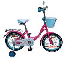 Велосипед дет двухкол FAVORIT мод BUTTERFLY BUT-20 бел. красн. роз. Китай