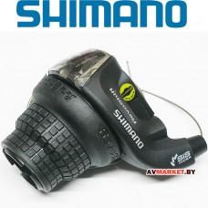Манетка прав. 6 ск Шифтер Shimano Tourney RS35 тр 2050мм Китай 1583