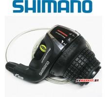 Манетка лев. 3 ск Шифтер Shimano Tourney SL-RS35 (SIS) 1800мм 2965