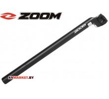Подседельный штырь Zoom SP-212 (L-400 D27,2 черный) 4123