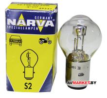 Лампа гологен. NARVA S2 12V-35/35W (Мопед) 49531 3000 Польша