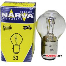Лампа гологен. NARVA S2 12V-35/35W (Мопед) 495313000 Польша
