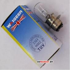 Лампа фары гологен HS1/12V18/18W скутер