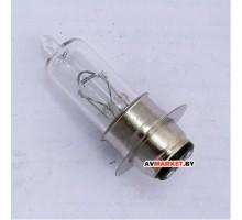 Лампочка 12V-35/35W с юбкой (3 уса)Дельта SLW 1104-207 Ки