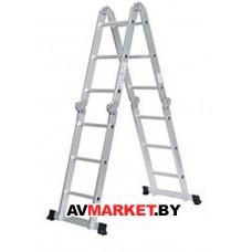 Лестница стремянка алюм 217см лестн. 445 см 11,6кг