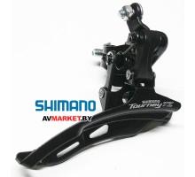 Переключатель передний Shimano TZ500 нижн. тяга 28,6 42T б/уп Россия 5175