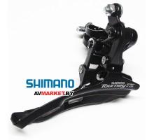 Переключатель передний Shimano TZ510 нижн. тяга 31,8 48T б/уп Россия 5348