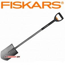 Лопата штыковая телескопическая закругленная FISKARS SmartFit  (131300) Финляндия