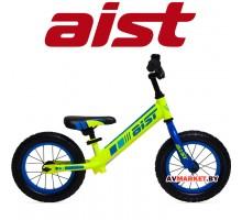 """Беговел детский с колёсами 12"""" товарного знака AIST (жёлто-синий) 4810310001057"""
