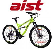 """Велосипед горный Aist Avatar Disc-  26"""" серо-желтый(17,5) 4810310001279"""