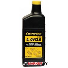 Масло CHAMPION SAE30 (0.6л) 4-х такт минер.
