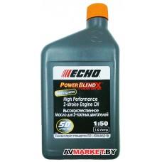 Масло ECHO 1л 2-х тактное 1:50 JASO FD полусинт.