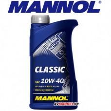 Масло Mannol Classic 10w40 SN/CF 1 л