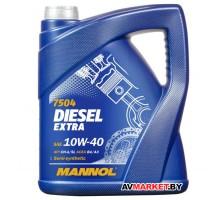 Масло Mannol Diesel Extra 10w40 CH-4/SL5 л 7504-5
