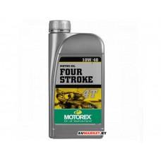 Масло MOTOREX 4-STROKE SAE 10W/40 1л