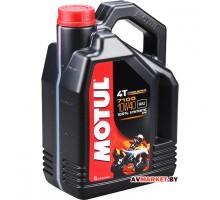 Масло Motul 7100 4T 10W40 4 л моторное, 100%синтетика для четырехтак двигателей мотоциклов Германия