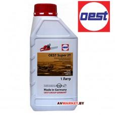 Масло OEST SUPER 1 л моторн.полусинтет для 2-х такт. 32562-89РОЗЛИ Германия