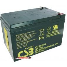 Аккумуляторная батарея АКБ CSB EVX 12120F2 12V/12Ah к электро велосипеду