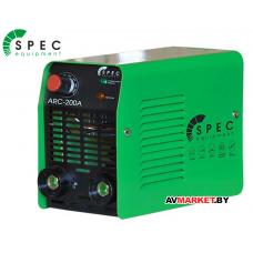 Аппарат сварочный SPEC ARC-200A страна ввоза Китай