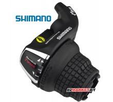 Манетка прав. 7 ск Шифтер Shimano Tourney SL-RS35 тр. 2050 мм