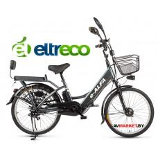 Велогибрид Eltreco e-Alfa (dark/grey-0245) китай