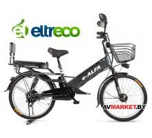 Велогибрид Eltreco e-Alfa GL (gray-0276) китай