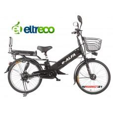 Велогибрид Eltreco e-Alfa L  (brown-0211) китай