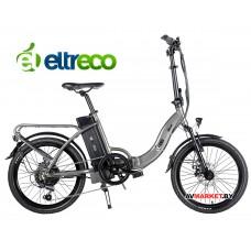 Велогибрид Eltreco Wave UP  (dark-grey 1932)