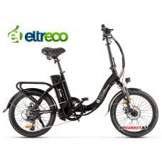 Велогибрид Eltreco Wave UP  (matt-black 1931)
