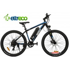 Велогибрид Eltreco XT700 (black/blue-1855)
